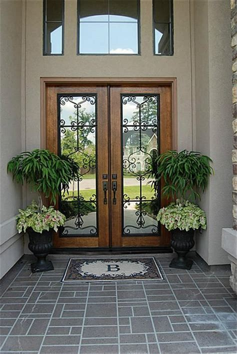 decorative glass front entry doors 25 best ideas about doors on
