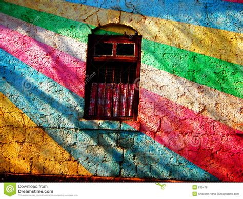 multi colored walls painted wall royalty free stock photos image 635478
