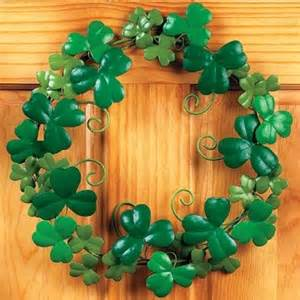 Shamrock Decorations Home by St Patrick S Day Shamrock Decorations Ideas For Home