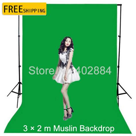 Backdrop 3x2m free tax to russia photography background 3x2m green
