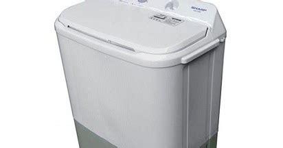 Mesin Cuci Sharp Es T65m list harga mesin cuci sharp 2 tabung murah terbaru
