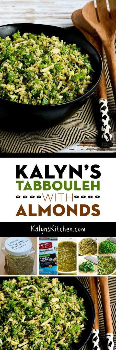 kalyn s kalyn s tabbouleh with almonds kalyn s kitchen