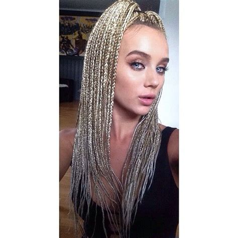 twists hairstyles for white women blonde white girls box braids google search hair ideas