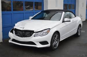 Mercedes Sports Cars For Sale 2015 Mercedes E400 Cabriolet Rebuildable For Sale