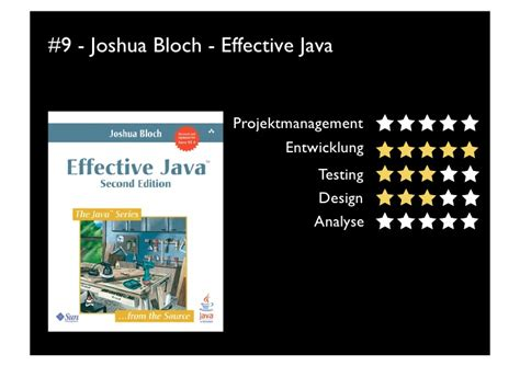 builder pattern in java joshua bloch top10 software engineering books