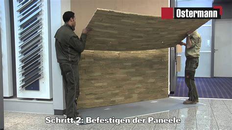 echtstein wand ostermann gfk steinpaneele verarbeitungsvideo