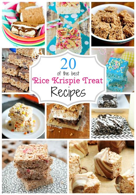 20 rice krispie treats ideas page 2 of 2 the taylor house