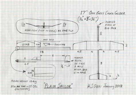 chuck gliders model aircraft jotter chuck glider