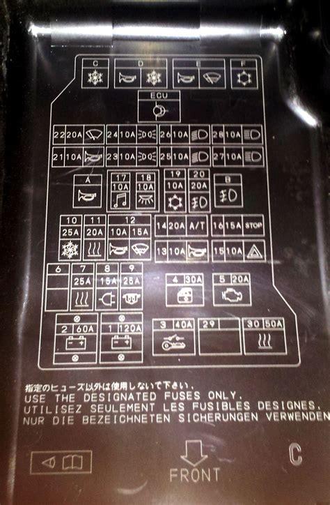 1830 Fuse Box Mitsubishi Pajero Sport mitsubishi montero fuse box diagram efcaviation