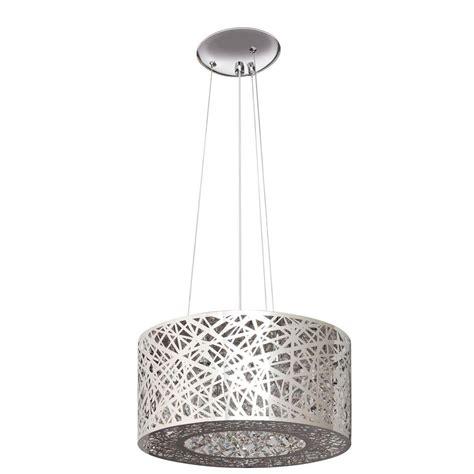 chandelier l shades home depot artika 7 light nested chrome laser cut shade chandelier
