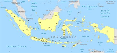 vehicle registration plates  indonesia wikipedia