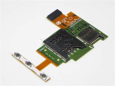 1264 1977 sony st26i xperia j sim memory card reader flex