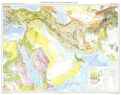 geological map of iraq structural geology november 2010