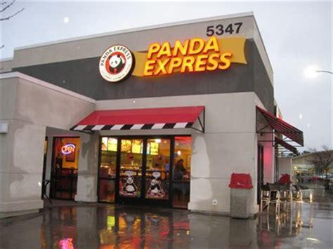 Panda Express Blackstone Fresno Ca Chinese China Buffet Fresno Ca