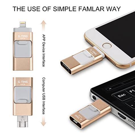usb flash drives for iphone 64 gb pen drive memory storage g ting jump stick ebay