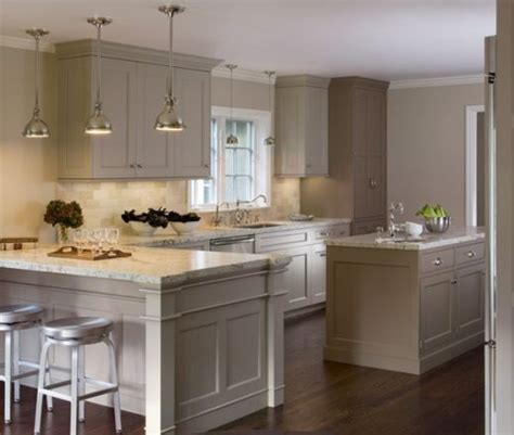 kitchen cabinets bay area transitional single line taupe kitchen grey cabinets