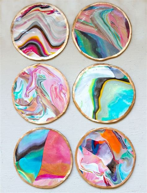 make coasters 15 diy projects to have coasters pretty designs
