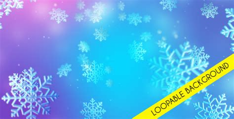 Christmas Snow Loopable Background by masterdot   VideoHive