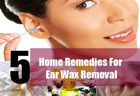 home remedies for ear wax bukit