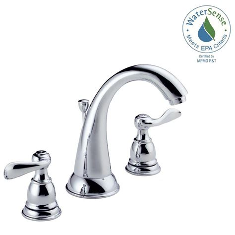 delta windemere widespread 2 handle bathroom faucet