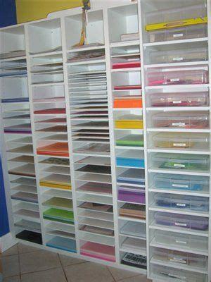 Craft Paper Storage Rack - paper rack craft storage