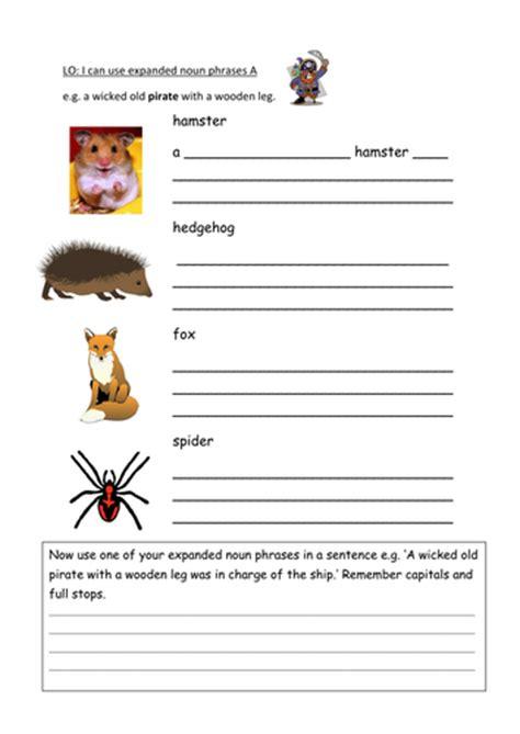 Noun Phrases Worksheet by Noun Phrase Worksheet Abitlikethis