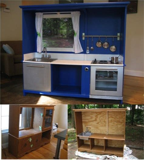 Entertainment Center Ideas Diy by How To Transform A Tv Cabinet Into A Kid S Playhouse Do