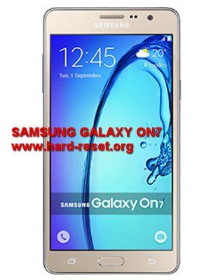 reset samsung battery how to easily master format samsung galaxy on7 pro with