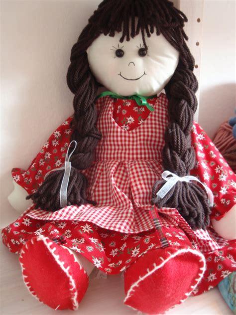 How To Make A Handmade Doll - pattern rag doll cloth doll pdf diy free shipping