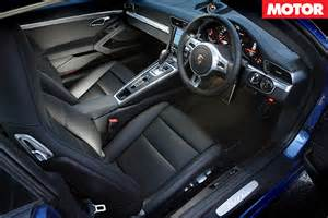 Porsche 911 Turbo S Interior Porsche 911 Turbo S