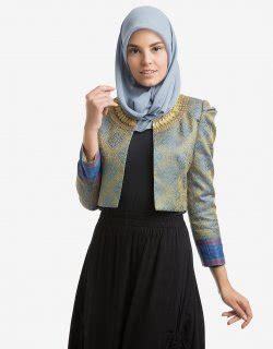 Melvina Set Songket Busana Muslim Setelan Atasan Dan Rok Songket mau lebaran yuk cek 9 model baju muslim trendy untuk wanita berikut