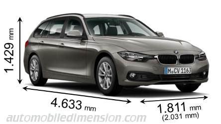Bmw 3er Touring Vs X3 by Abmessungen Der Bmw Autos Mit L 228 Nge Breite Und H 246 He
