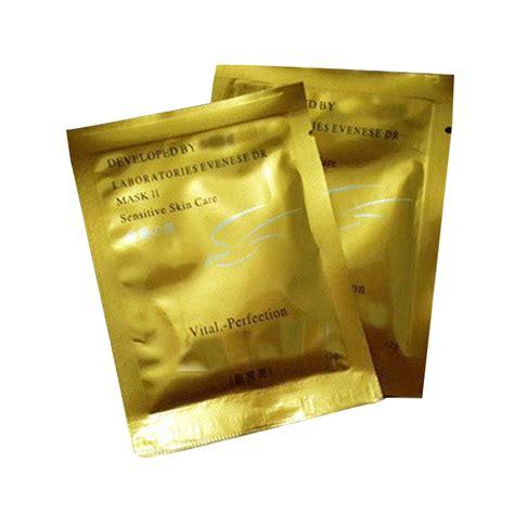 jual masker wajah muka shiseido gold whitening mask masker