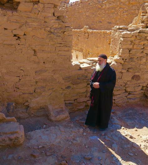 coptic monk st simeon monastery a camel ride into the sahara