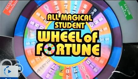 All Magical Student Wheel Of Fortune Logopedia The Logo And Branding Site Wheel Of Fortune Classroom