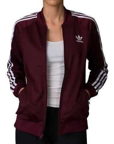 Promo Jaket Promo Gunung Tracker Adidas Maroon Jaket Adidas Kekinian adidas supergirl track jacket burgundy ay8941 610 jimmy jazz