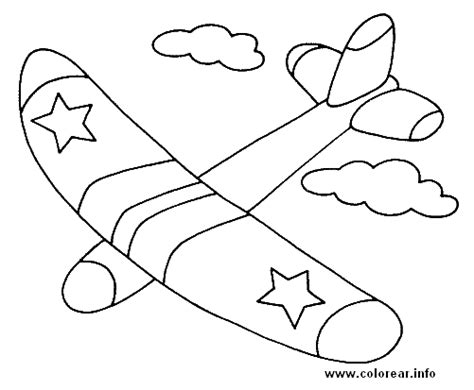imagenes para pintar para niños avion objetos dibujos e imagenes para ni 241 os para pintar