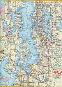Seattle Tacoma Map by 1956 Map Of Seattle Tacoma Area
