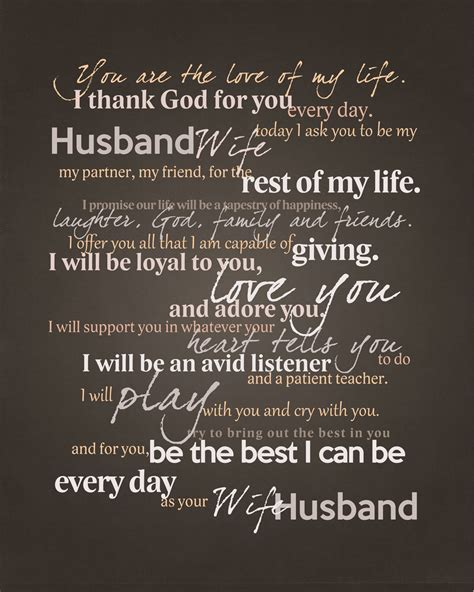 Humanist Wedding Blessing Vows by Frame Your Wedding Vows Adorable Graphic For Framing