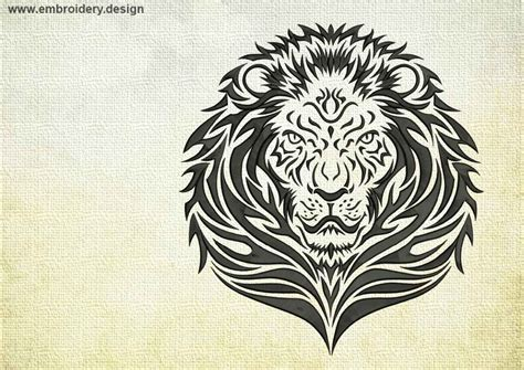 tattoo embroidery designs royal lions embroidery designs pack collection of 10