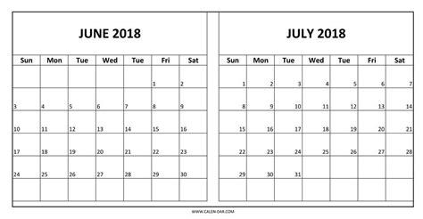 printable calendar july 2017 to june 2018 june and july 2018 calendar mathmarkstrainones com