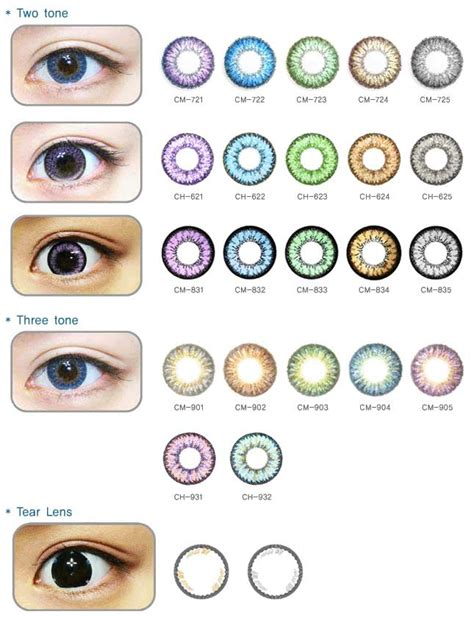 color contact brands toric colored contact lenses