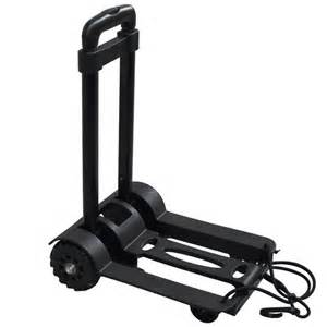 Lightweight Cart Daily Use Small Portable Luggage Cart Retractable Folding