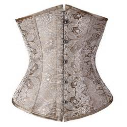 vintage brocade pattern lace up boned steunk corset bustiers tops ebay floral pattern underbust vintage waist trainer corset top bustiers boned lace up s 2xl read