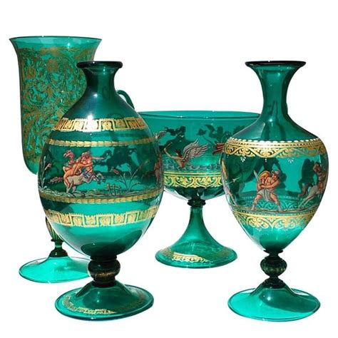 Decorative Vases And Urns collection of venetian vases and urns at 1stdibs