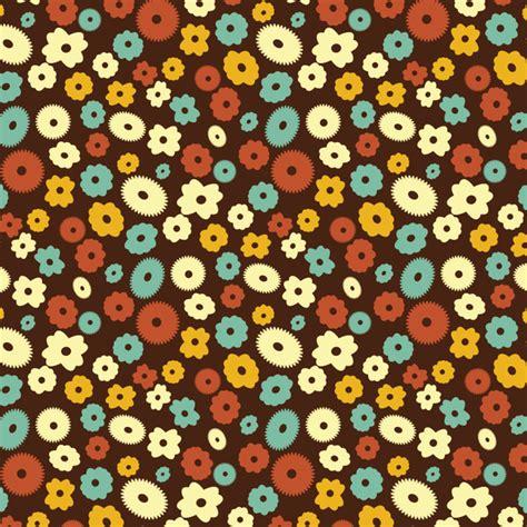pattern flower simple simple flower pattern free vector in adobe illustrator ai
