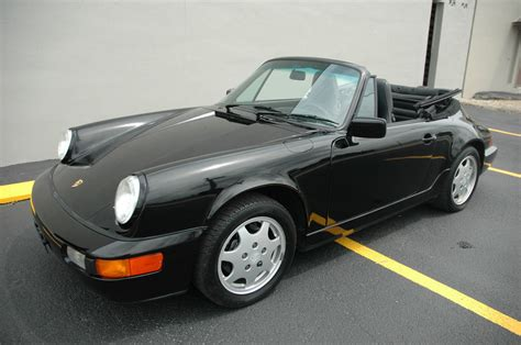 porsche car 4 door 1991 porsche 911 carrera 4 convertible 2 door 3 6l