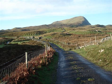 Lovely Hills Farm And Garden #2: Clare-island-landscape-road.JPG