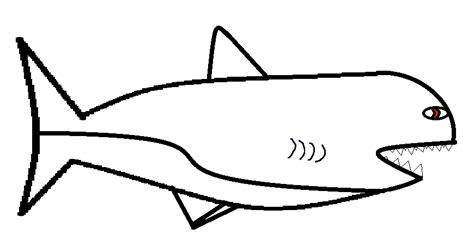 Hai Vorlagen by Shark Drawing Template