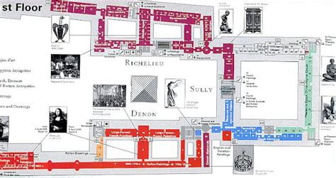 the louvre floor plan image gallery louvre map